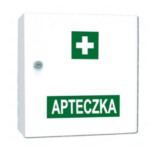 Przemysłowa apteczka pierwszej pomocy Vera4 w szafce metalowej