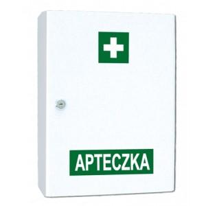 Przemysłowa apteczka pierwszej pomocy VERA1 w szafce metalowej