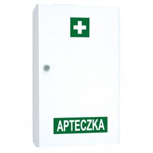 Przemysłowa apteczka pierwszej pomocy VERA2 w szafce metalowej